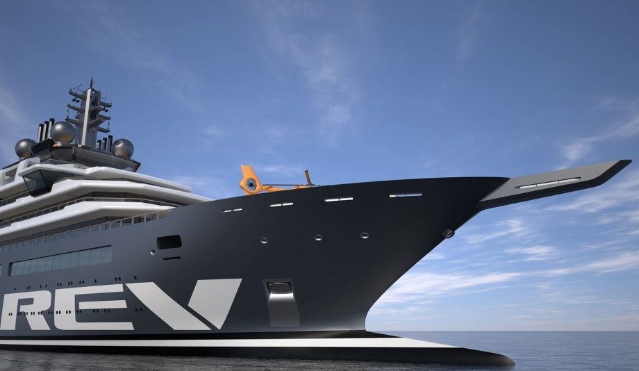 REV-worlds-largest-superyacht-bow-view-hero