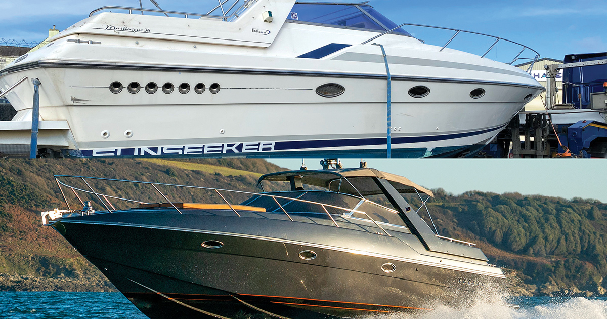 The ultimate refit? How this 30-year-old Sunseeker was brought back to life