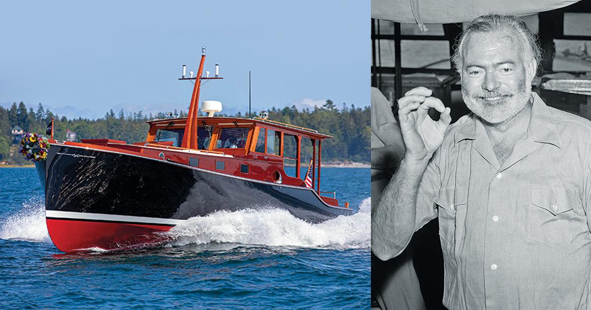 Hemingway's boat reborn: How Pilar was recreated in meticulous detail
