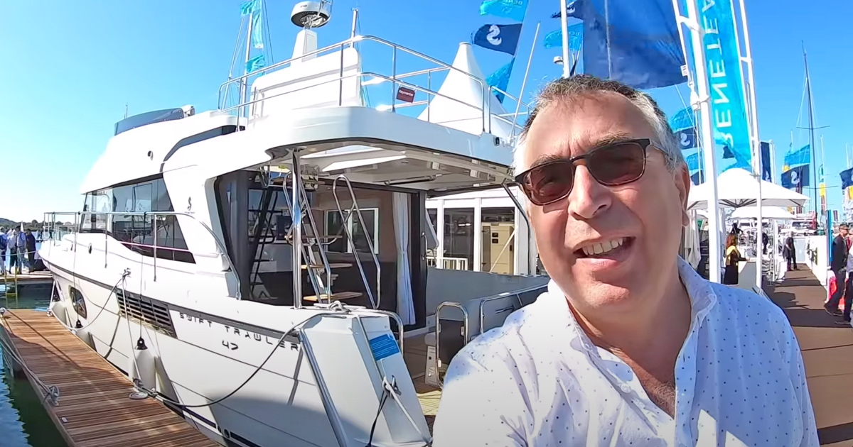 Beneteau Swift Trawler 47 yacht tour: Does exactly what it says on the tin