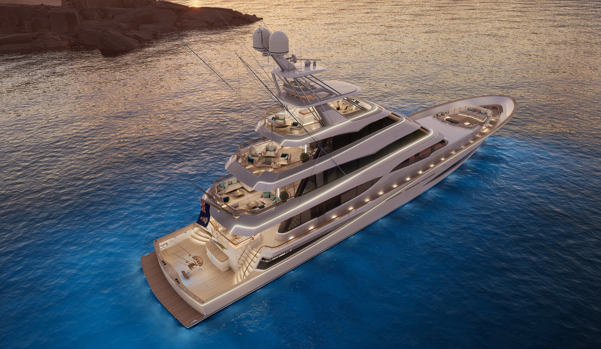 Biggest sportsfish yacht: Royal Huisman to build 52m aluminium whopper