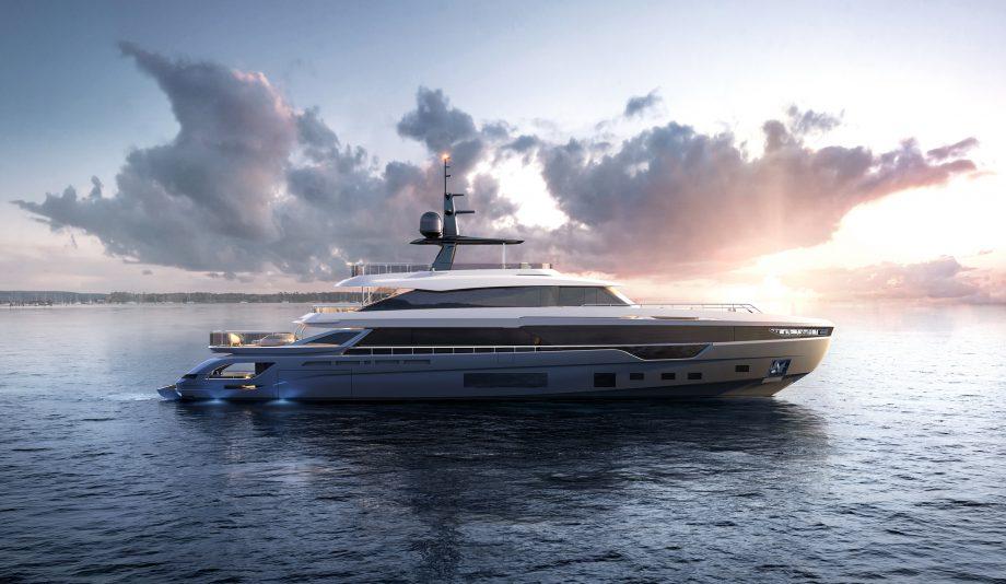 azimut-grande-trideck-first-look-new-custom-yachts-side-view-hero
