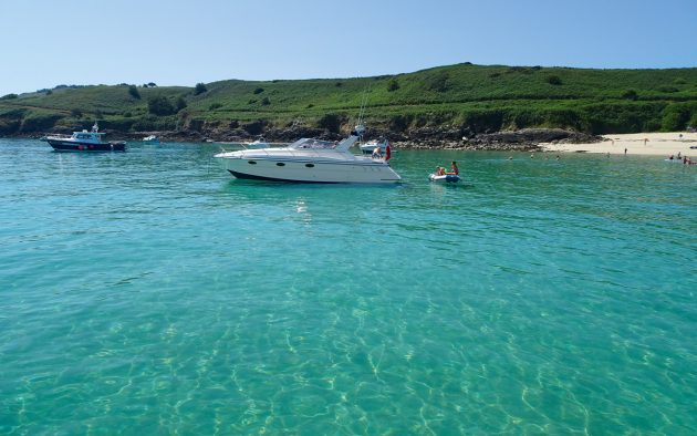 The British Isles or  the Caribbean? Herm's Shell  Beach is magical. Photos: Colin Le Conte and friends