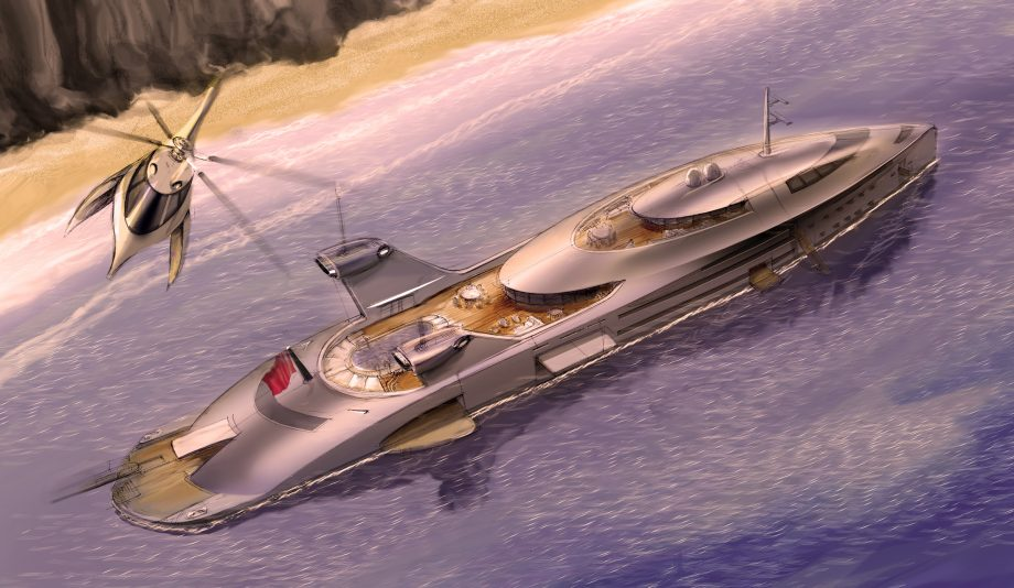 mad-max-jet-engine-superyacht-concept-130m-cobra-aerial-running-shot-hero-credit-uros-pavasovic