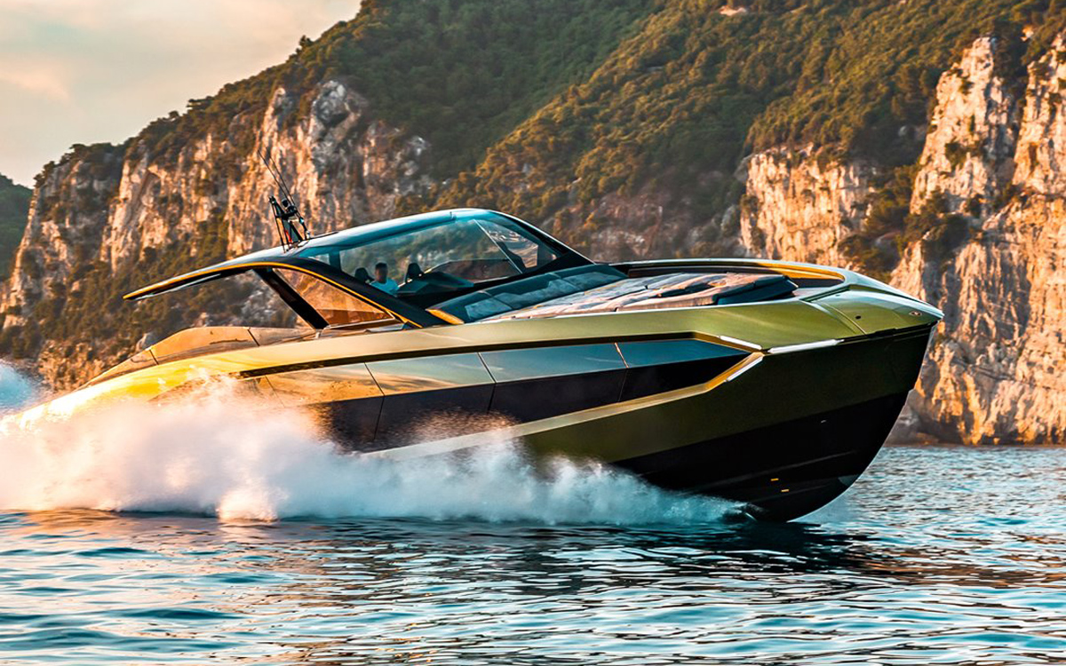 Lamborghini boat: Tecnomar delivers first official 'fighting bull' branded yacht