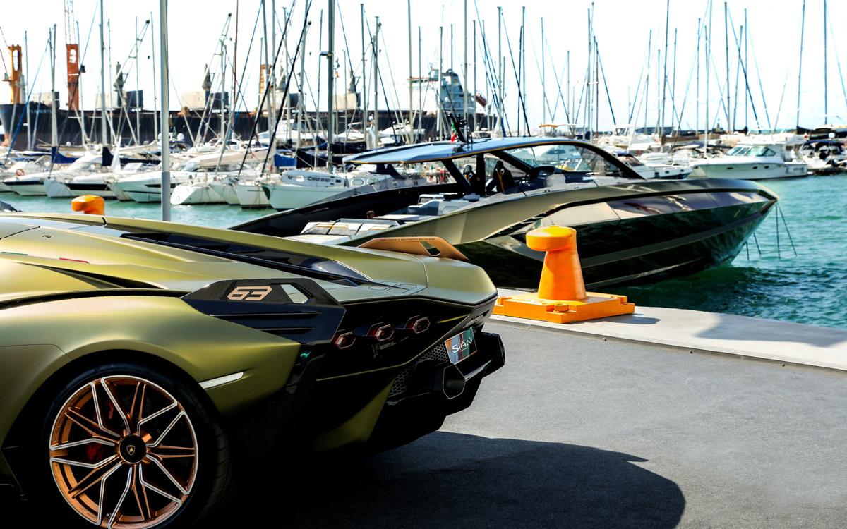 Lamborghini-boat-delivered-moored-credit-tecnomar