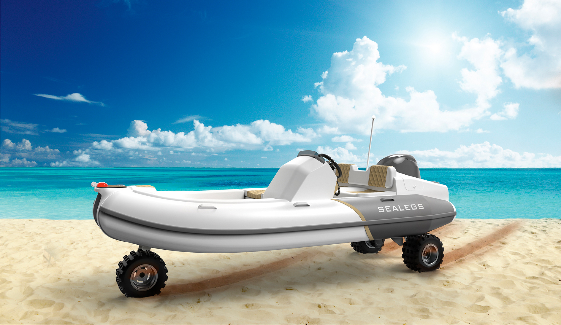 Sealegs 3.8m Tender first look: Mini amphibious boat could open up new horizons