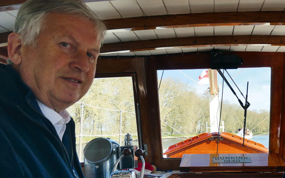 Cockwells boat yard owner reveals his Dunkirk Little Ship restoration