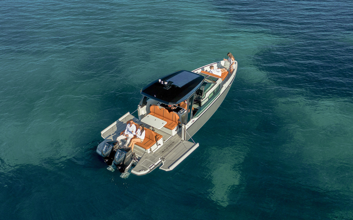 Saxdor Yachts: Luxury style without luxury prices
