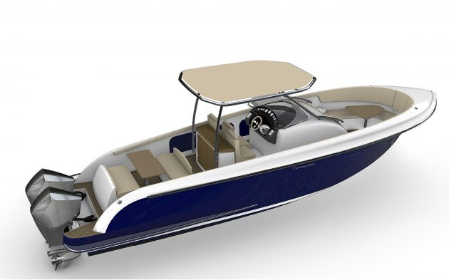 The Comitti Isola 33 is a tempting blend of style and practicality