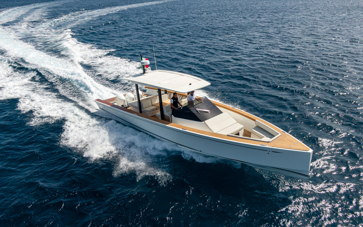 Swan Shadow 42 yacht tour: Nautor's Swan's €370,000 ultimate chase boat