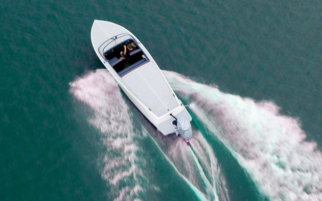 E-motion-180-most-powerful-electric-outboard-aerial-running-shot