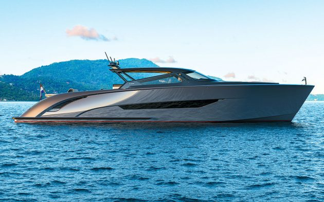 Wajer's biggest ever day boat is quite a sight and boasts triple IPS1200 pod drives