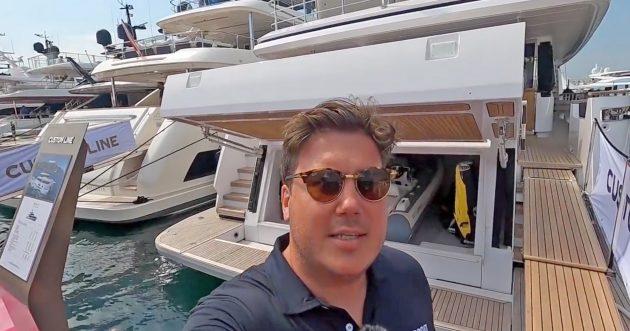 Custom Line Navetta 30 yacht tour: €9m superyacht feels much bigger than her 93ft