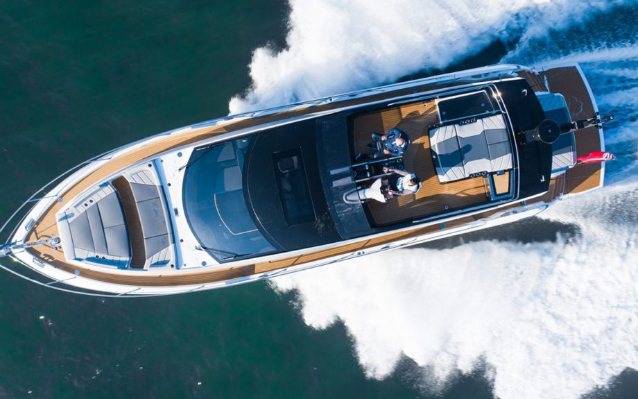 sunseeker-65-sport-yacht-southampton-boat-show-2021-aerial-view