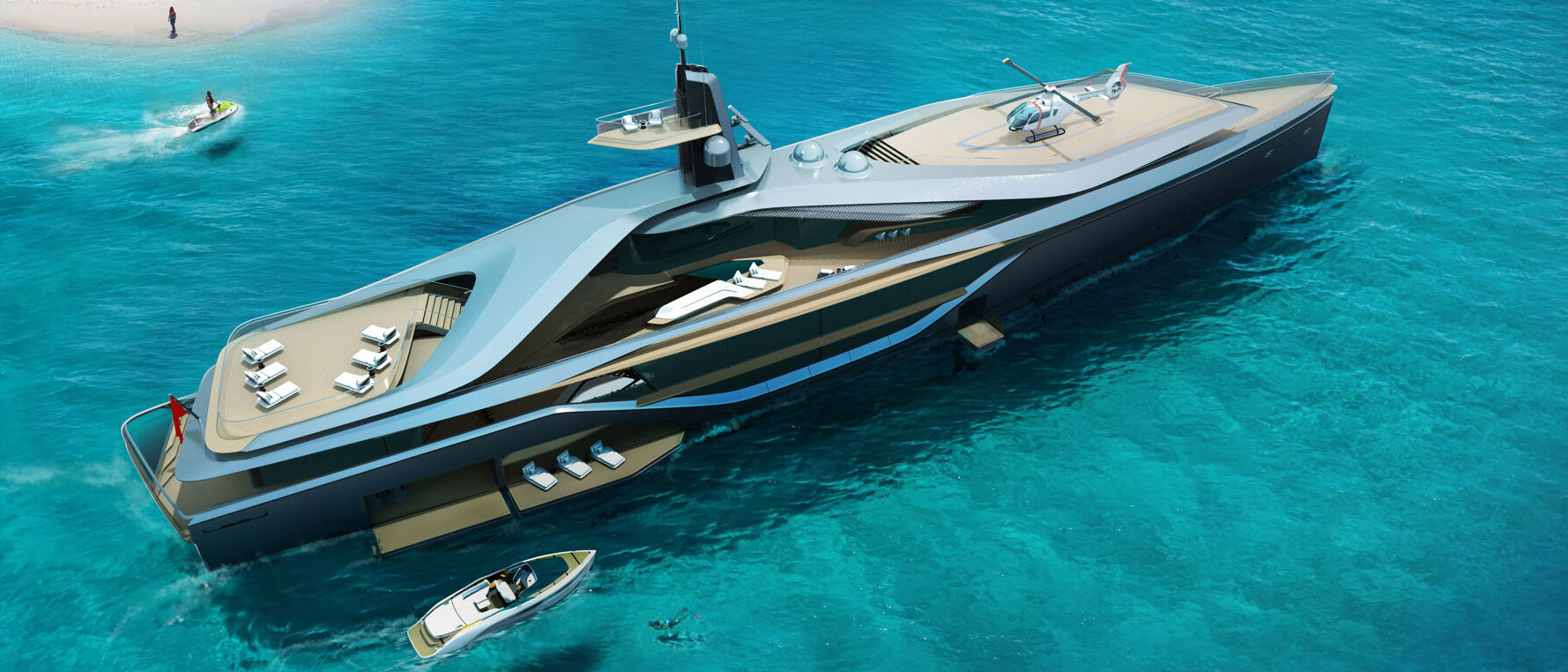 Kairos by Oceanco and Pininfarina – stunning and timeless superyachting