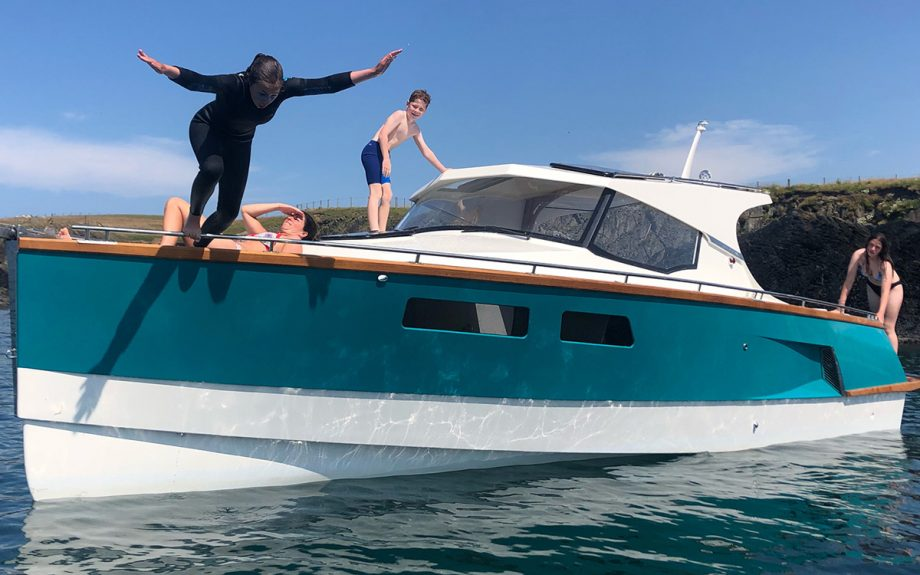 Whisper-300-first-look-swimming-southampton-boat-show