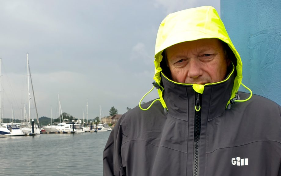 gill-os3-coastal-boating-jacket-front-hood-up