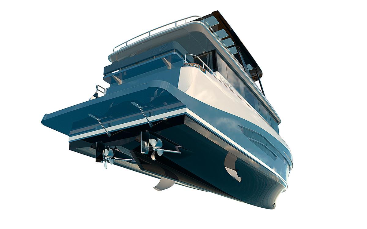 Eegle-electric-trawler-yacht-hull