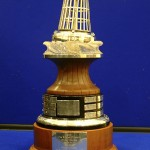 The YJA Yachtsman of the Year trophy