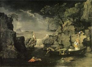 'Winter - The Deluge' by Nicolas Poussin, circa 1660-4 (Musée du Louvre, Paris)