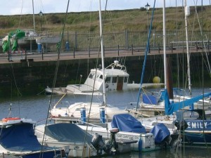 sunken boat Cred: Kevin Akitt
