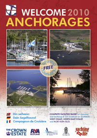 Welcome Anchorages 2010 front cover