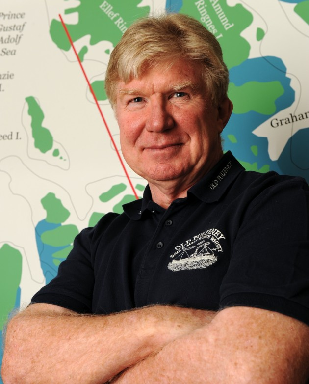 Jock Wishart to row to North Pole