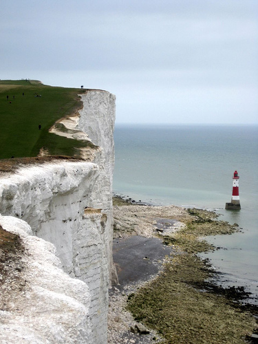 Beachy Head lighthouse, image Teddy Sipaseuth