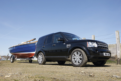 PBO towing feature with Land Rover