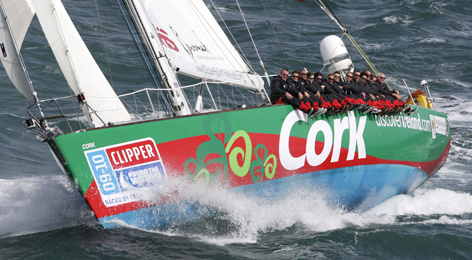 Cork Clipper goes aground of Indonesia