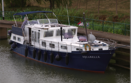 Aquarelle navigates the Danube documentation from Serbia to Germany