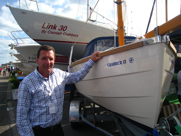 Peter Thomas, Sales Manager Cornish Crabbers