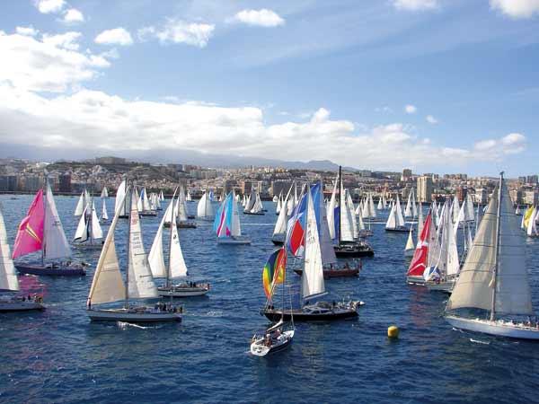 ARC start Gran Canaria