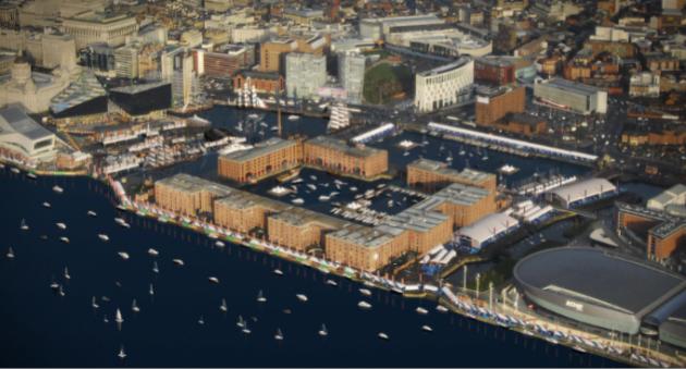 Liverpool Boat Show - artist's impression