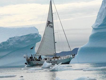 Berserk sails through ice