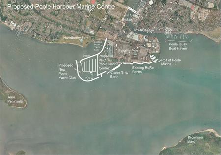 Poole Harbour plan