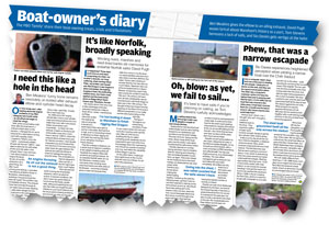 Boat-owner's Diary July 2011