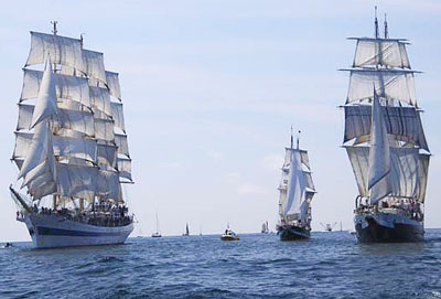 Tall ships race start