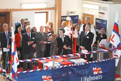 HRH The Princess Royal opens Bembridge Lifeboat Station