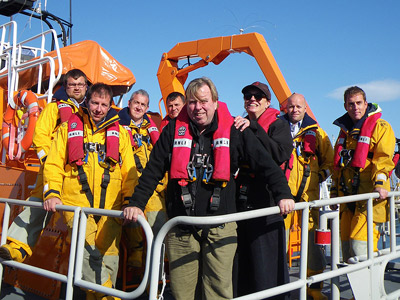 Timothy Spall on RNLI lifeboat