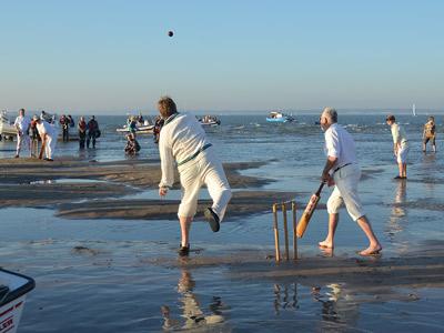 Brambles Bank cricket