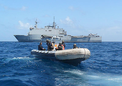 SPS Galicia with pirated dhow ? EU NAVFOR