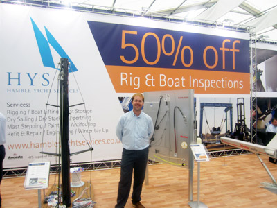 Hamble Yacht Services offer at SBS