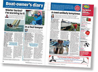 Boat-owner's diary - PBO January 2012