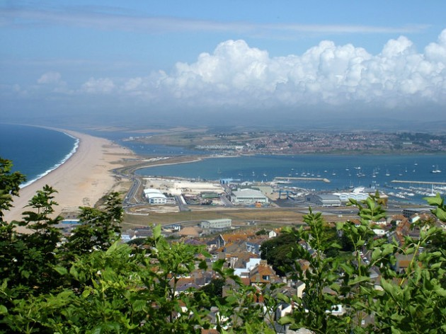 Weymouth, its Harbour, and Chesil Beach