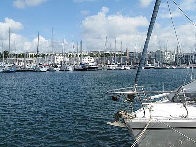 Brest visitors pontoon