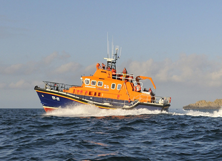 RNLI St Mary's all-weather lifeboat The Whiteheads