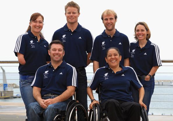 Britain's Paralympic sailing team