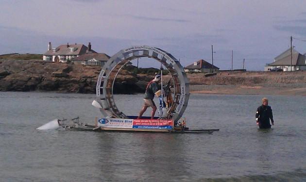 hamster wheel irish sea crossing
